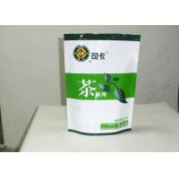 Cheap Plastic Chinese Tea Packaging Bag For Food , Zip Seal Bags Tea Packing for sale