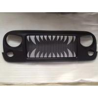 Cheap Jeep Jk Wrangler Spartan Grille_Land Shark Material: ABS Plastic for sale