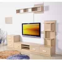 Cheap Contemporary TV Stands With Drawer , Hanging Cabinet Wall Mounted TV Console for sale