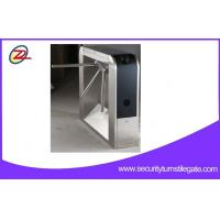 Buy cheap Security    tripod turnstile gate  /  turnstile barrier with entrance type RFID card reader from Wholesalers
