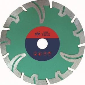 China Portable Segmented Diamond Stone Cutting Saw Blades  Protective Teeth  Marble Cutting on sale