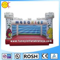 Cheap Outside Sewing Commercial Inflatable Bouncers With Jumping Bouncers for sale