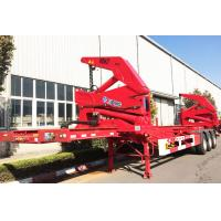 Cheap 37 ton 40 ton Side Loader Trailer for loading 20 foot 40 foot Containers for sale