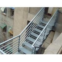 Cheap Strong Industrial Building Space Saving Steel Stair Construction For Home Easy Installation wholesale