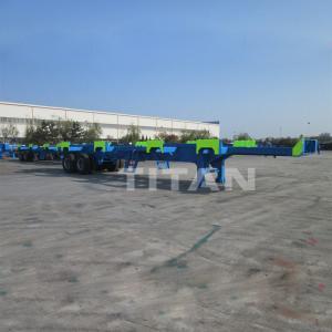 Cheap TITAN 60 tonne 45pied conteneur semi-remorque portuaire en haute qualité à vendre for sale