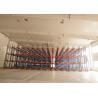 1000 Depth Shuttle Metal Pallet Racks Remote Controlled For Frozen Meat / Beverage Storage
