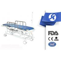Cheap Four Wheels Moving Patient Transport Trolley Ambulance Stretchers for sale