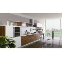 Cheap Melamine Faced Particle Board Kitchen Cabinets For Commercial  Kitchen Decoration for sale