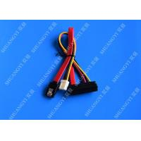 Buy cheap 22 Pin SATA Cable with 3 Pin Power and  Latching SATA Connector from wholesalers