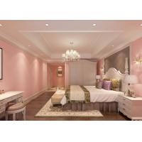 Romantic pink kids bedroom wallpaper embossed modern for Bedroom wallpaper sale