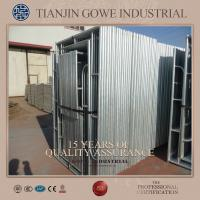 Cheap Steel Galvanized quick scaffold systems / tubular welded frame scaffold for sale