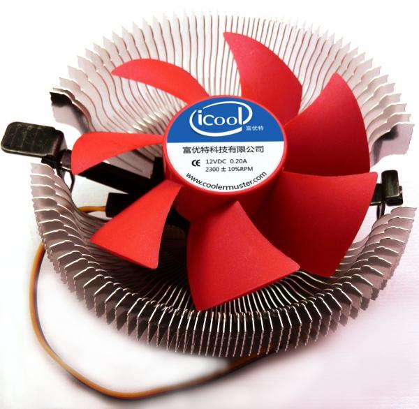 Quality Computer Hardware  cpu cooler  cpu fan    E86-A   For Intel 775/1155/1156 AMD K8 AM2, AM2+,AM3 ,Aluminum wholesale