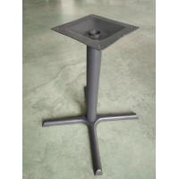 Cheap Cast Iron Dining Table legs Grey Finish Classic Design Laborsaver Table bases for sale