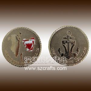 China Custom Metal Souvenir Coins/ Cheap Challenge Coin/ Custom Military Coin on sale