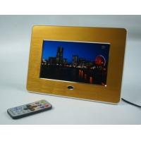 "Advertising 7"" Metal Brushed POP LCD Display Screen With Video Loop Play"