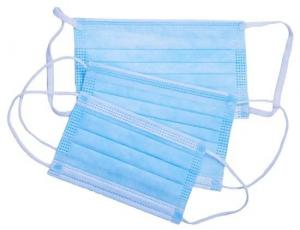 Cheap Ear Hanging Disposable Mouth Mask , Disposable Non Woven Face Mask Super Soft Cloth for sale