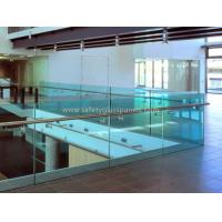 Cheap Tinted Tempered Architectural Glass Balustrade Frameless Glass Fencing for sale