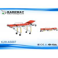 Cheap Patients Transfer Ambulance Stretcher Trolley , Portable Rescue Stretcher For Hospital for sale