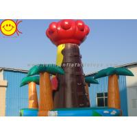 Cheap 0.55mm PVC Inflatable Sports Games Advertising Rocking Wall for Kids and Adults for sale