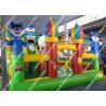 Buy cheap Disney Park Cartoon water slide / Children cartoon bouncy Castle from Wholesalers