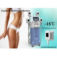 Cheap 4 handles Fat Freezing machine, Zeltiq cooling / Cryolipolysis Fast Slimming machine with 1000W output for sale