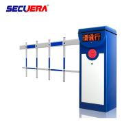Cheap Automatic Articulated DC Parking Boom Barrier Gate With Long Range Rfid Reader for sale