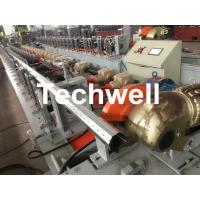 Cheap 40mm, 60mm, 70mm, 80mm Octagon / Octagonal Pipe Roll Forming Machine With Fly Saw Cutting for sale