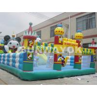 Cheap Customized Panda Paradise Inflatable Fun City bouncy castle for adults for sale