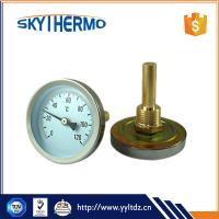 China adjustable bimetal pressure thermometer functions and uses on sale