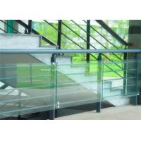Cheap Decorative Glass Railing Laminated Safety Glass Grey CE / CSI Approve for sale