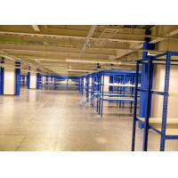 Cheap Blue Selective Boltless Industrial Shelving 225 Kg Per Level Material Handling Racks for sale