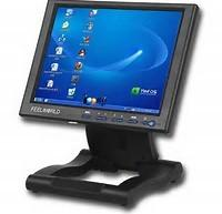 Projected Touch Screen Computer Monitor, USB Touch Screen Industrial Monitor