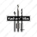 Kadkam Mbs dental milling burs for CAD/CAM milling disc zirconia blank milling
