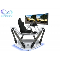 Cheap Theme Park Competition 9D 3D Full View Vr Car Driving Simulator for sale