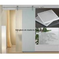 Cheap Tempered Acid Etched Glass / En12150 Approved (TX-9292) for sale