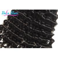 "Cheap Black Women 8"" / 10"" Healthy Spiral Curl Mongolian Hair Extensions Weft for sale"