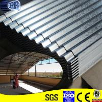 Galvanized Roofing Sheet Cladding : Galvanized roofing and cladding metal sheet with