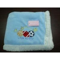 Cheap Flannel and Sherpa Blanket for sale