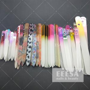China Professional Nail File And Buffer Crystal Nano Glass Shine Nail Buffer on sale