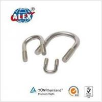 Cheap DIN 3570 Stainless Steel Steel U Bolt Zinc Plated Free Sample for sale