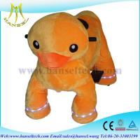 Cheap Hansel motorized plush riding animals shopping mall animal ride… for sale