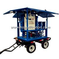 Cheap trolly mounted vehicle for transfomer oil filteration,transformer oil filter machine,6000l h high vacuum oil filtration for sale