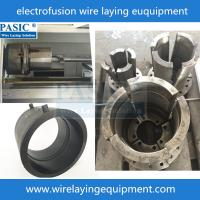 Pasic cnc electrofusion fittings saddle wire laying