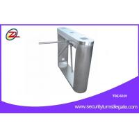 Buy cheap Turnstile Security Systems Pedestrian Barrier Gate With cctv camera system from Wholesalers