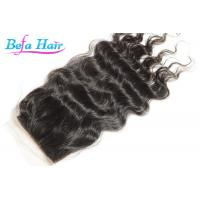 Cheap Professional Malasian Loose Wave Natural Hair Closure Hair Extension Closures for sale