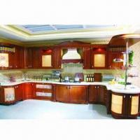 China US Style Kitchen Cabinet, Made of Birch/Maple/Poplar/Oak/Solid Wood or Plywood on sale