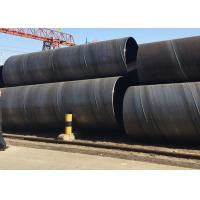 Thickness 3-30MM Round Steel Tubing With API Spiral Steel , Loose Package