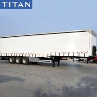 Cheap 45FT Tautliner Curtains PVC Tarpaulin Side Curtain Trailer fo Sale for sale