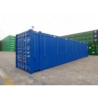Cheap 45ft Hard Open Top Shipping Container Steel Cover Material Transportion Storage for sale
