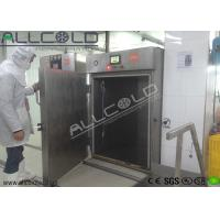 Stainless Steel Chamber Vacuum Cooling Equipment For Cooked Foods / Rice / Bread